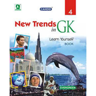 NEW TRENDS IN G.K (WITH WORKSHEETS & FLASH CARDS) 4