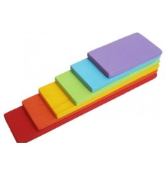 Endow Toys Building boards small - Coloured
