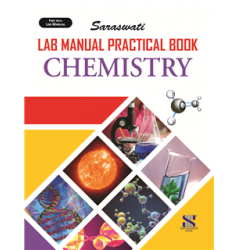 New Saraswati Lab Manual Practical Notebook Chemistry (56 Pages)
