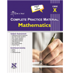 New Saraswati Me 'n' Mine Complete Practice Material Mathematics for Class-10