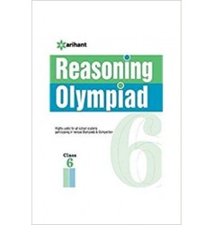 Arihant Olympiad Books Practice Sets -  Reasoning Class 6th