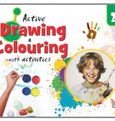 Full Marks Active Drawing & Colouring With Activities-2