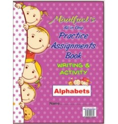 Mindfuel All-in-one Practice Assignments Book Writing & Activity Alphabet