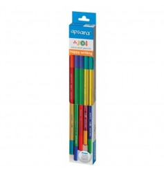 Apsara JOI Pencils Vibrant and Colourful (Pack of 10 Pcs)