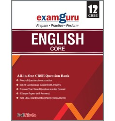 Full Marks Exam Guru English Core Class 12