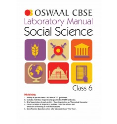 Oswaal CBSE Laboratory Manual Class 6 Social Science Book (For 2021 Exam)