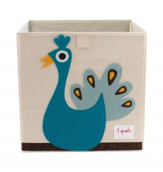 3 Sprouts Strong Box - Peacock