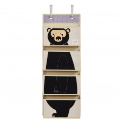3 Sprouts Hanging Wall Organizer - Bear