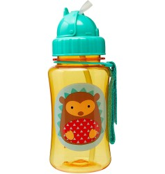 Skiphop Zoo Straw Bottle - Hedgehog