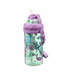 Smily Kiddos Holiday Sipper Water Bottle (Light Blue)