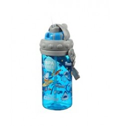 Smily Kiddos Holiday Sipper Water Bottle (Blue)
