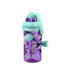 Smily Kiddos Holiday Sipper Water Bottle (Purple)