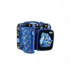 Smily Kiddos Fantasy Multi Compartment Lunch Bag (Blue)