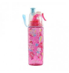 Smily Kiddos Fantasy Sports Drink Bottle  (Pink)
