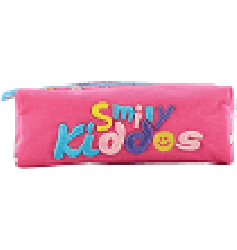 Smily Kiddos Fantasy Twin Zipper Pencil Pouch (Pink)