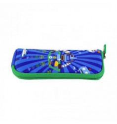 Smily Kiddos Fantasy Mini Pencil Pouch  (Blue)