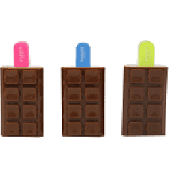 Smily Kiddos Chocolate Scented highlighter