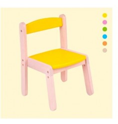 Brainsmith Wooden Stacking Chair