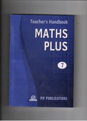 PP Teacher's Handbook Maths Plus for class VII
