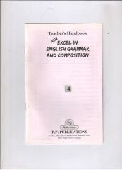 PP Guide for Excel In A English Grammer And Composition For Class IV
