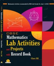 PP CBSE Mathematics Lab Activities and Projects with Record Book For Class 12