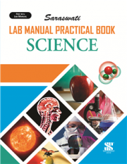 New Saraswati Lab Manual Practical Notebook Science (180 Pages)