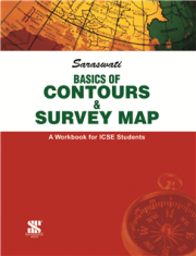 New Saraswati Contours And Survey Map for Class-9 to 10 (ICSE)