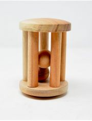Ariro Tumbler rattle with wooden ball