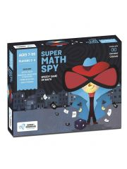 Chalk and Chuckles Super Math Spy - Mental Maths, Educational Game, Family Fun and Number Learning for 7 Years Old and Up Kids