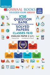 Oswaal ICSE Question Bank Chapterwise & Topicwise English Paper-2 Literature for Class - 10 (for exam 2021)