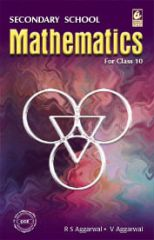 Bharati Bhawan Secondary School Mathematics For Class 10 by R S Aggarwal