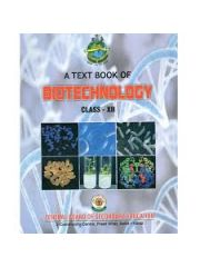 CBSE Biotechnology: A textbook in Biotechnology for Class 12