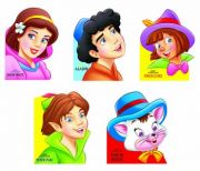Fancy Story Board Book - Pack 2 (5 Titles)