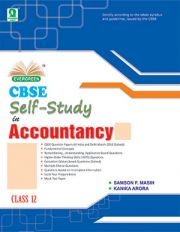 CBSE SELF-STUDY IN ACCOUNTANCY 12
