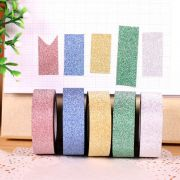 Glitter Set Of 6 Colorful Glitter Tape Rolls For Arts, Crafts And Other Creative Projects (6 Different Colors As Per Availability)