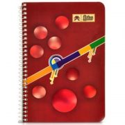 Lotus Spiral Notebook Ruled No. 0 (100 Pages)