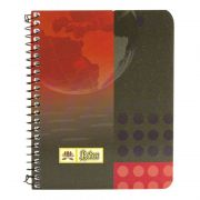 Lotus Spiral Notebook Ruled (80 Pages) No. 2