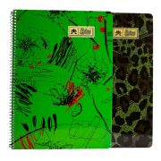 Lotus Spiral Notebook Ruled (80 Pages) No. 3
