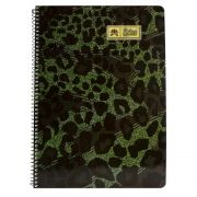 Lotus Spiral Notebook Ruled (80 Pages) No. 4