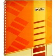 Lotus Spiral Notebook No. 4 Ruled - A5 Size (15x21 cm) 160 Pages