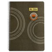 Lotus Spiral Notebook No. 6 Ruled - A4 Size