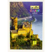 Hans Smart Long Notebook A4 Size (29.7 cm x 21 cm) - Ruled 144 Pages