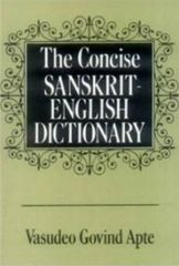 The Concise SanskritEnglish Dictionary