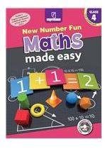 Madhubun New Number Fun Maths Made Easy For Class 4