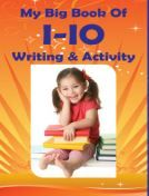 Mindfuel My Big Book Writing & Activity 1-10