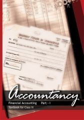 NCERT Accountancy (Financial Accounting)  Part I For Class XI