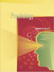 NCERT Psychology For Class XI