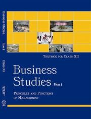NCERT Business Studies I For Class XII