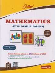 Golden  Mathematics with Sample Papers