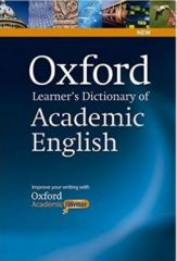 Oxford Learner's Dictionary of Academic English with CDROM